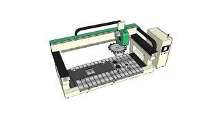 3d milling machine cnc milling machine 3d warehouse