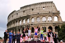ancient news u002718 giro will go from jerusalem to rome podium cafe