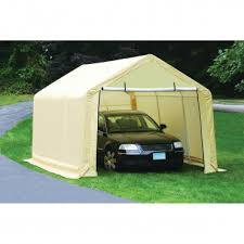 Garage Awning Kit 10 Ft X 20 Ft Portable Car Canopy