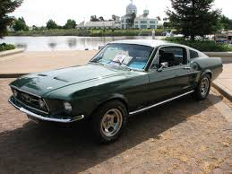 Black 67 Mustang Coupe 1967 Mustang Gt