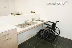 cuisine pmr mobilier adapter pour personnes handicapés ou à mobilité réduite