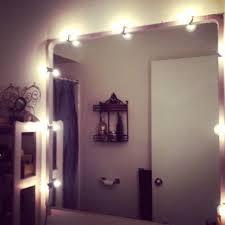 battery operated vanity lights makeup mirror with light lighted makeup mirrors portable for