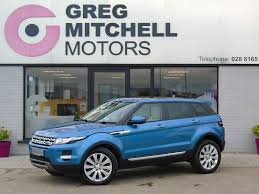 land rover evoque blue 2014 land rover range rover evoque pr lux sd4 auto at greg