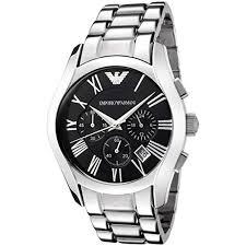 armani steel bracelet images Emporio armani gents chronograph stainless steel bracelet watch jpg