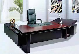 fascinating brown u shaped modern office desk design ideas come