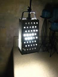 Ikea Desk Lamp Light Bulb 10 Minute Cheese Grater Lamp Ikea Hackers Ikea Hackers