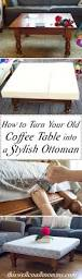 How To Make A Coffee Table by 1000 Ideas About Homemade Ottoman On Pinterest Diy How To Build An
