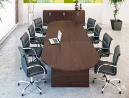 Black Boardroom Table On Series Boardroom Cantilever Chair In Black Leather Radius Office