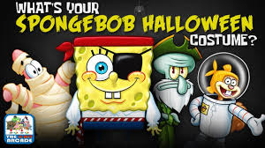 what u0027s your spongebob halloween costume let u0027s find out