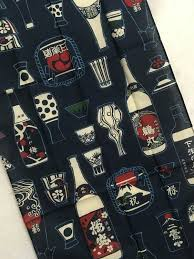 Japanese Gift Wrapping Cloth Tenugui Japanese Kanji Fabric Wrapping Cloth Japanese Fabric