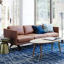 west elm leather sofa reviews brooklyn leather sofa 81 west elm
