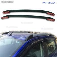 matte black abs roof rack bar for ford ranger t6 mk2 px4 px