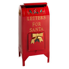 letters to santa mailbox 25 letters for santa metal mailbox decor christmas tree