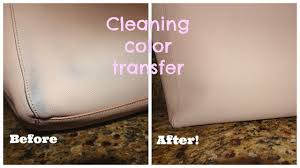 Remove Ink From Leather Sofa Easiest Way To Clean Color Transfer Off Leather Youtube