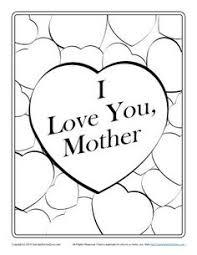 mother coloring pages printable thank you mother coloring page mother u0027s day activities