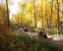 Wisconsin Atv Trails Map by Atv Rusk County Wisconsin