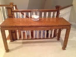 drexel coffee table modern style wood sofa table drexel heritage 6 u0027 l x 1 u00271 2