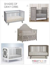 50 shades of gray in the nursery