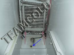 i have a ge side by side refrigerator the refrigerator section is