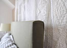bedroom concept blue tufted headboard diy home design concept