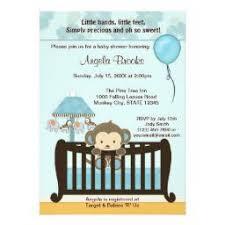 baby shower monkey monkey baby shower invitations babyshowerinvitations4u