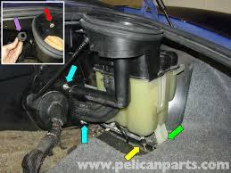 porsche boxster coolant tank replacement 986 987 1997 08