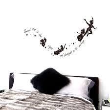 stars wall decals tinkerbell promotion shop for promotional stars tinkerbell second star to the right peter pan wall decal sticker kids art mural