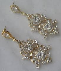 gold bridal earrings chandelier gold bridal earrings chandelier mix and match the gold