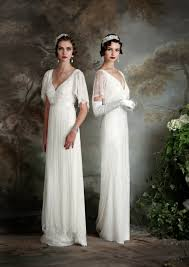 in wedding dress eliza howell deco inspired wedding dresses