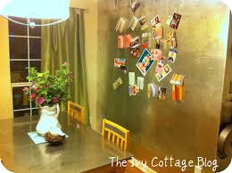 Aluminum Backsplash Sheets by Faux Silver Leaf Tutorial From The Ivy Cottage Blog Positively