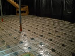 heated concrete floor