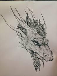pencil drawing dragon drawings of dragons drawing art gallery