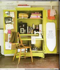 sewing armoire organizing with style small sewing space inspiration blue i