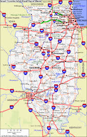 of illinois map map of illinois map