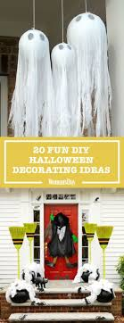 halloween decorations made at home 40 devilishly fun decorating projects home made halloween
