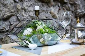 glass terrarium rocket wedding box stained glass orchid