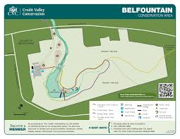 Map Ontario Ca Belfountain Conservation Area Map U2013 Lifeology 101