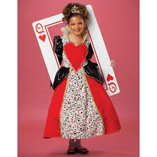 buy queen of hearts costume for kids girls halloween costume