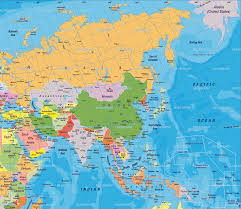 Asia Map Labeled by Maps Map Asia