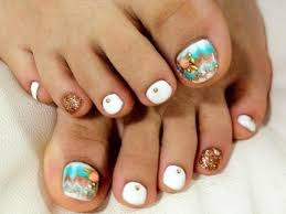 30 toe nail designs for summer 2017 nail art images