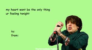 Valentine Cards Meme - 26 hilarious band valentine s cards smosh