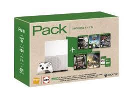 siege console de jeux bon plan xbox one s 1 to 5 jeux 6 mois de xbox live à 299