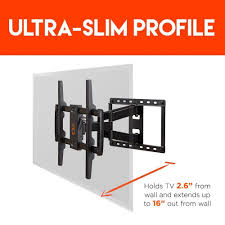 amazon tv black friday sold out amazon com echogear full motion articulating tv wall mount