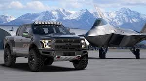 Ford Raptor Truck Topper - ford builds f 22 raptor themed f 150 raptor for charity auction