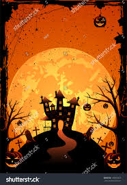 free halloween vector background halloween night background with