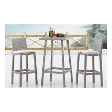 High Top Patio Furniture by Partner New Style Cheap Outdoor Wicker High Top Patio Furniture
