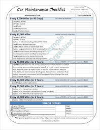 Maintenance Checklist Template Excel Daily Checklist Sle Daily Checklist Template 10 Free Pdf