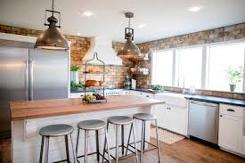 before and after kitchen photos from hgtv fixer upper the overgrown ranch old dated kitchen