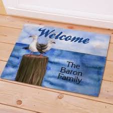 Welcome Doormats Personalized Summer Fun Welcome Doormats Summer Is All About Fun