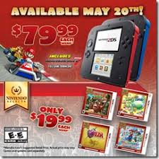amazon 2ds black friday nintendo 2ds price drops to 79 99 on may 20 2016 siliconera